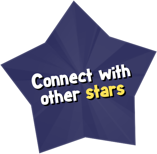 Connect with other stars