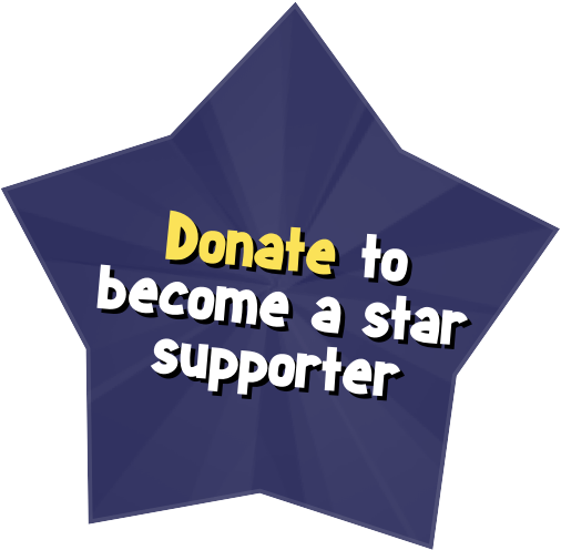 Donate to become a star supporter