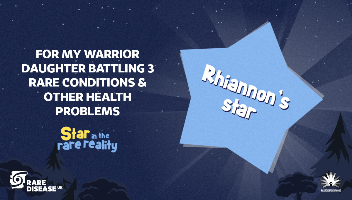 For my warrior daughter battling 3 rare conditions & other health problems