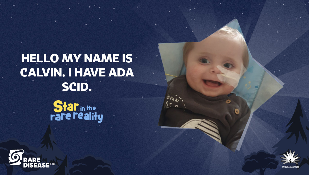 Hello my name is Calvin. I Have ADA scid.