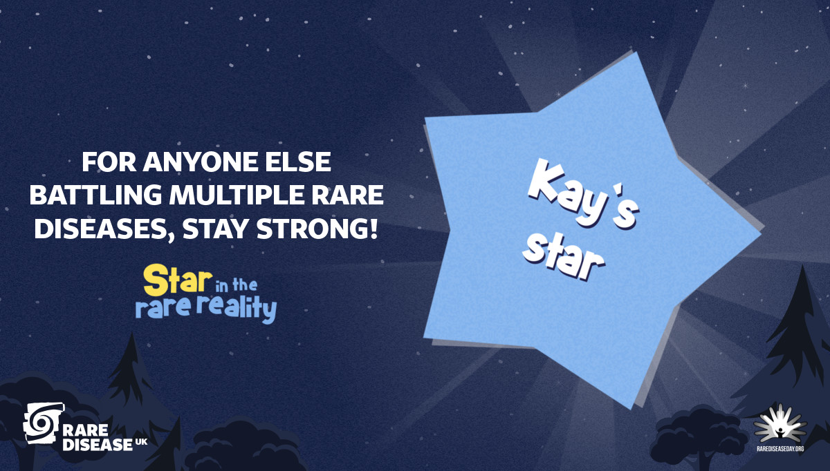 For anyone else battling multiple rare diseases, stay strong!