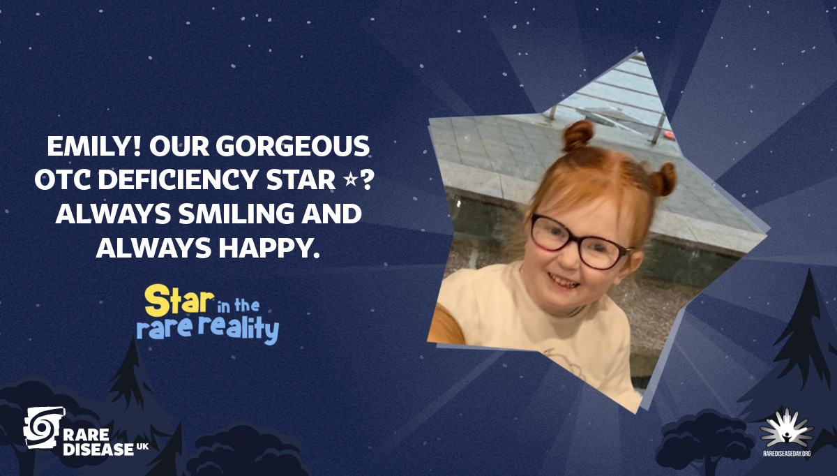 Emily! Our gorgeous OTC deficiency star ⭐️ always smiling and always happy.