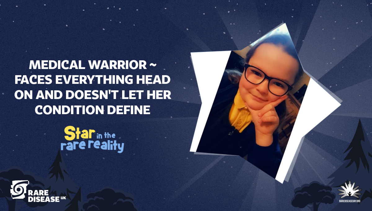 Medical warrior ~ faces everything head on and doesn't let her condition define