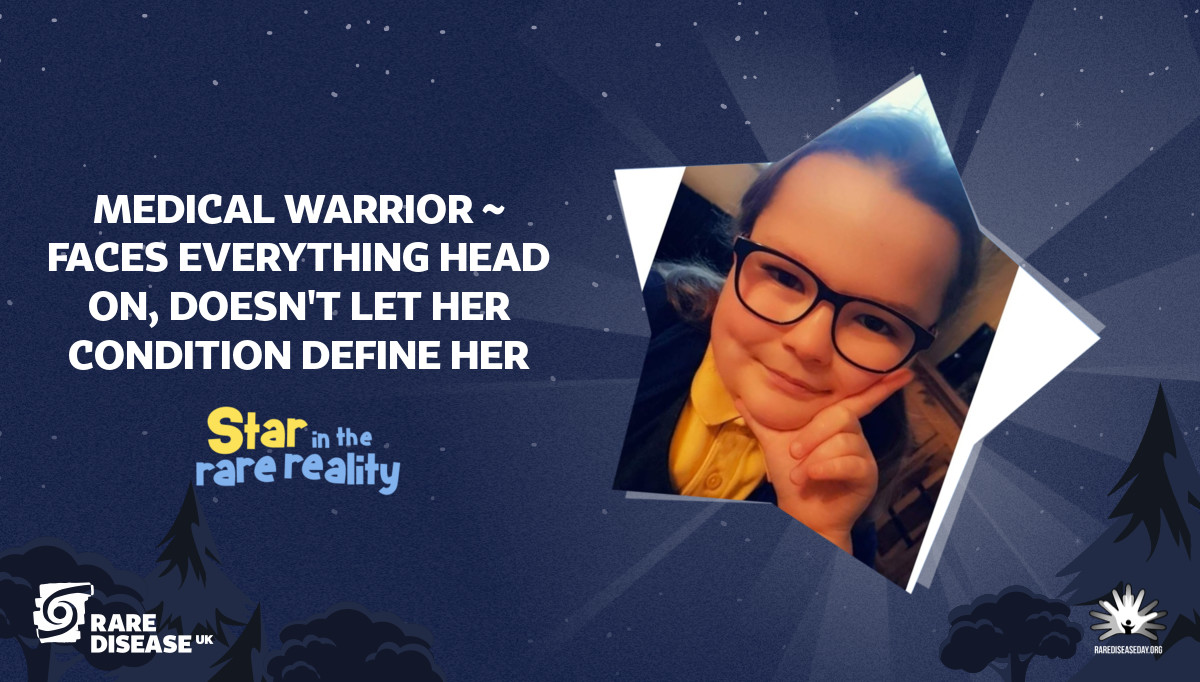 Medical warrior ~ faces everything head on, doesn't let her condition define her