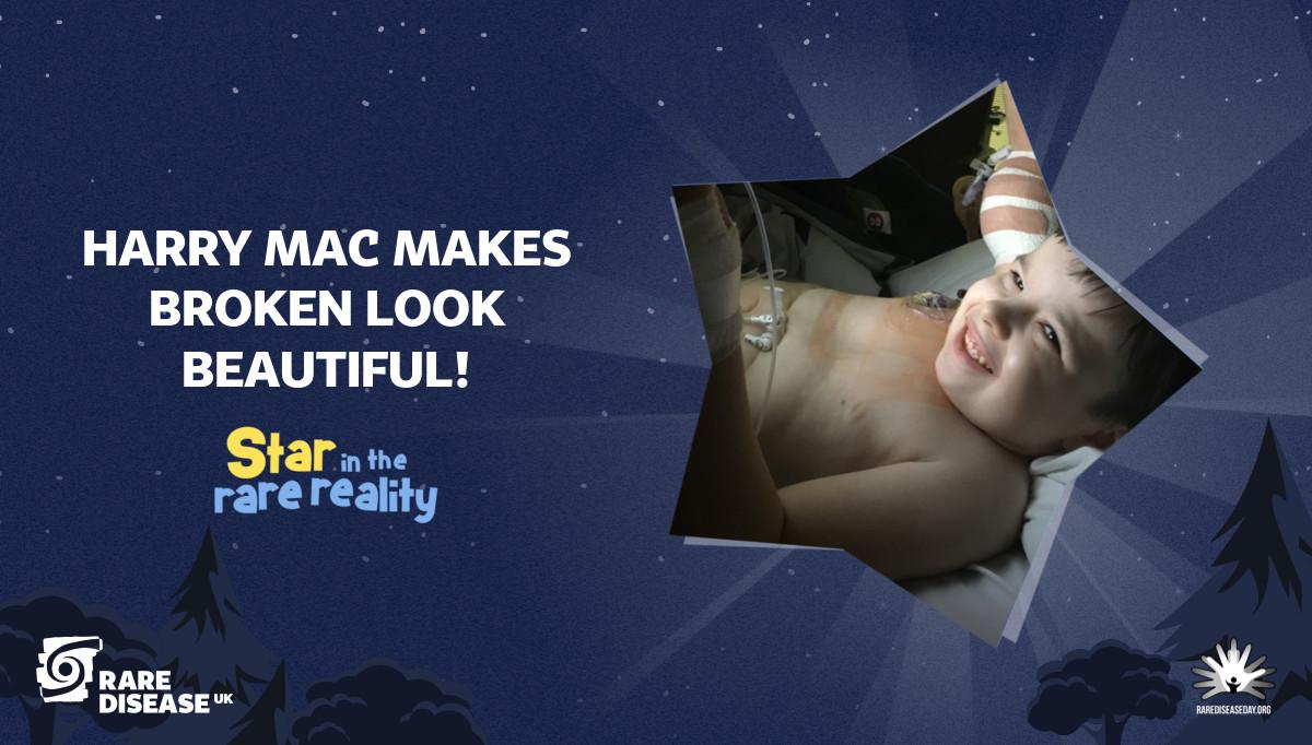 Harry Mac makes broken look beautiful!