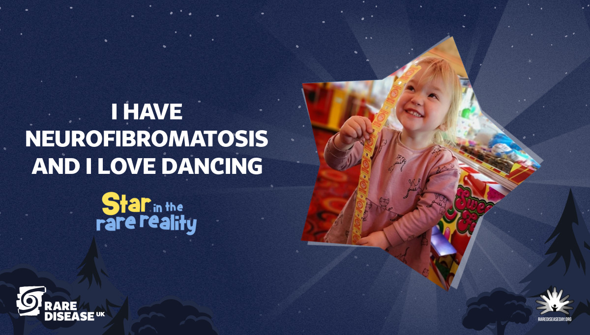 I have Neurofibromatosis and I love dancing