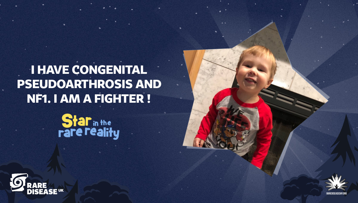 I have congenital pseudoarthrosis and NF1. I am a fighter !