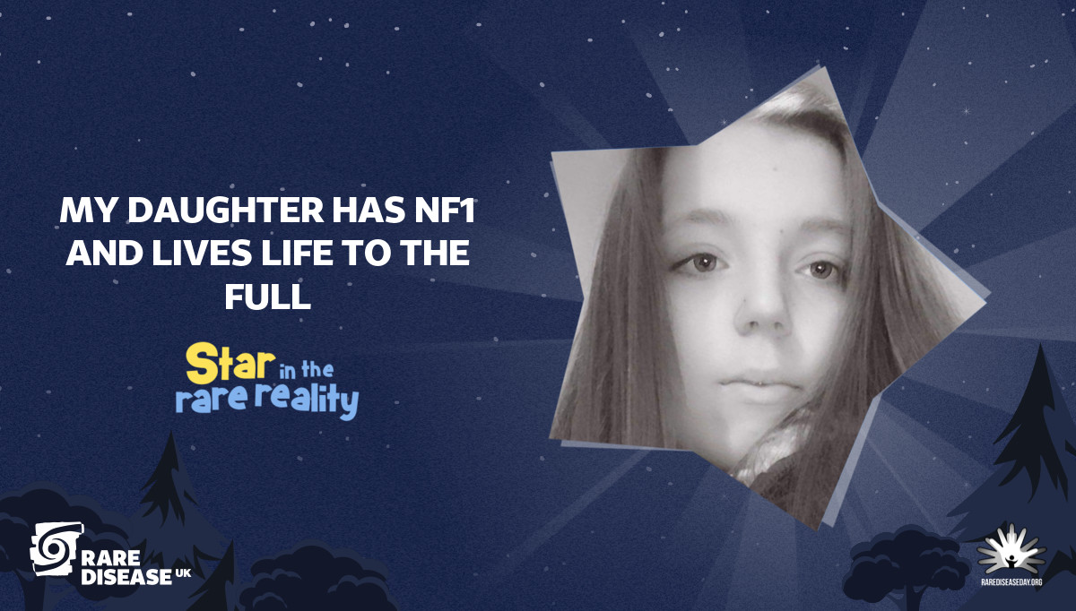 My daughter has NF1 and lives life to the full