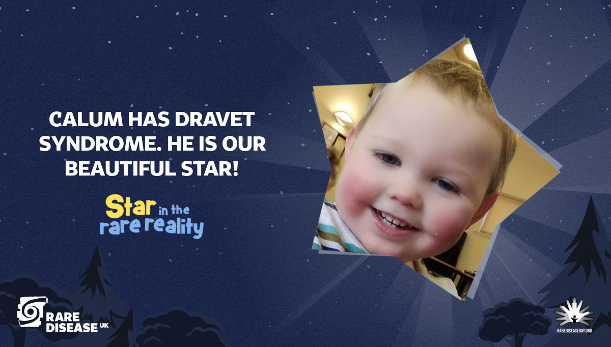 Calum has Dravet Syndrome. He is our beautiful Star!