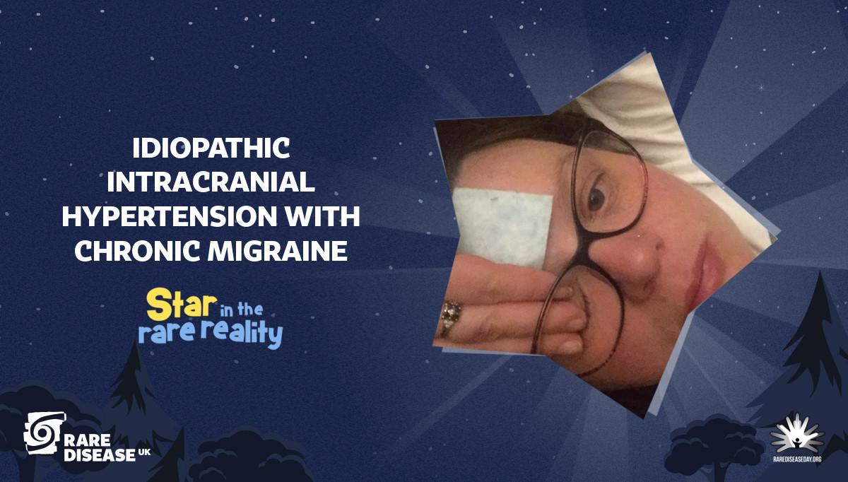 Idiopathic intracranial hypertension with chronic migraine