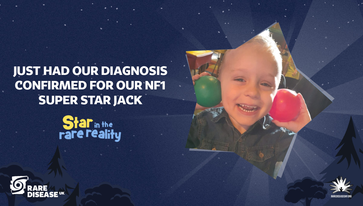 Just had our diagnosis confirmed for our NF1 super star Jack