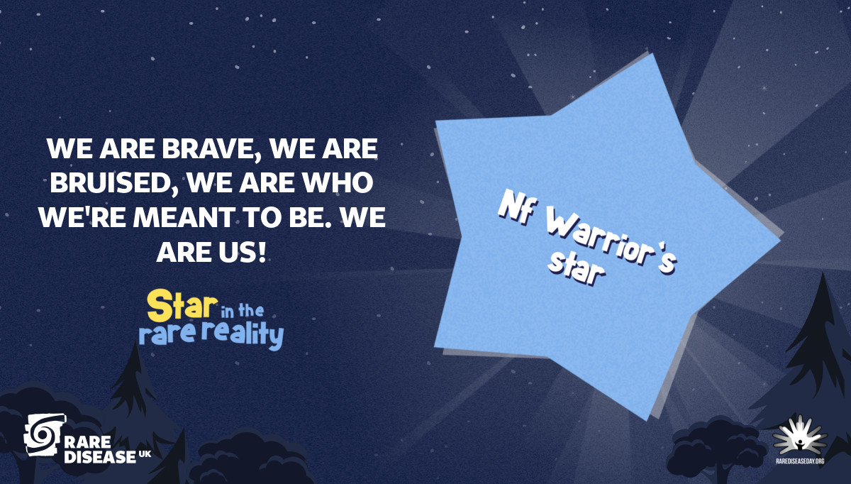 We are brave, we are bruised, we are who we're meant to be. WE ARE US!