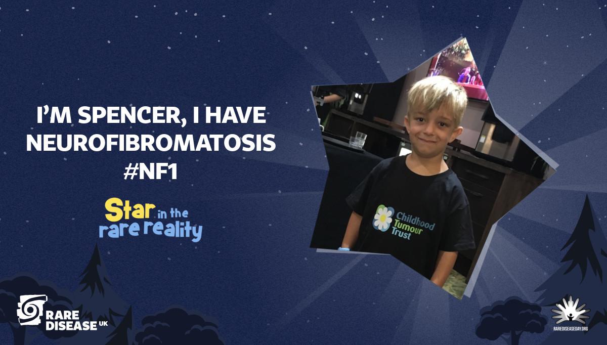 I'm Spencer, I have Neurofibromatosis #NF1