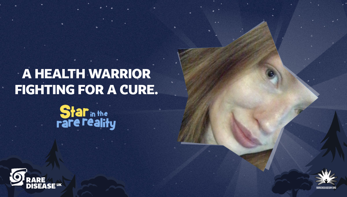 A health warrior fighting for a cure.