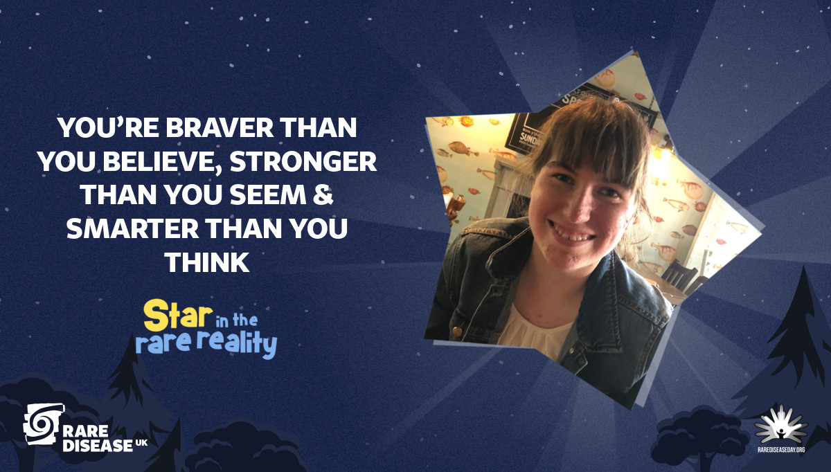 You're braver than you believe, stronger than you seem & smarter than you think