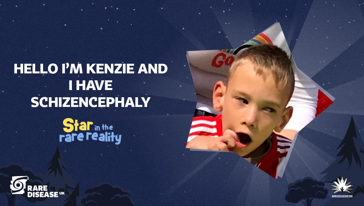 Hello I'm Kenzie and I have Schizencephaly