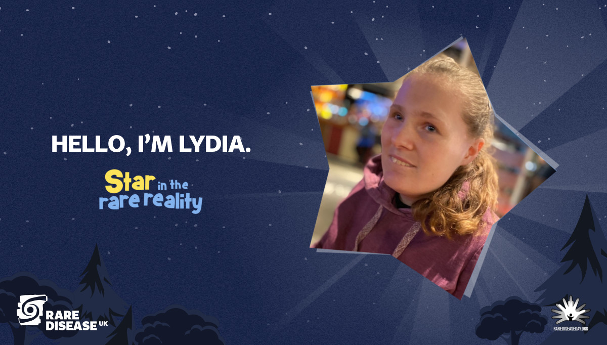 Hello, I'm Lydia.