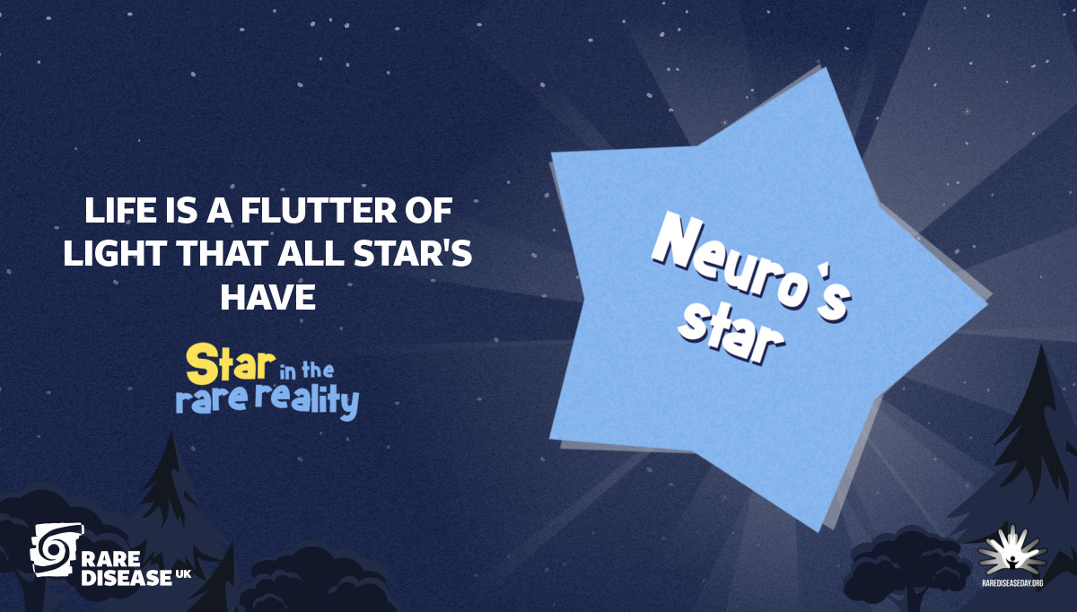 Life is a flutter of light that all star's have