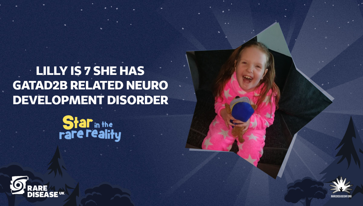 Lilly is 7 she has gatad2b related neuro development disorder