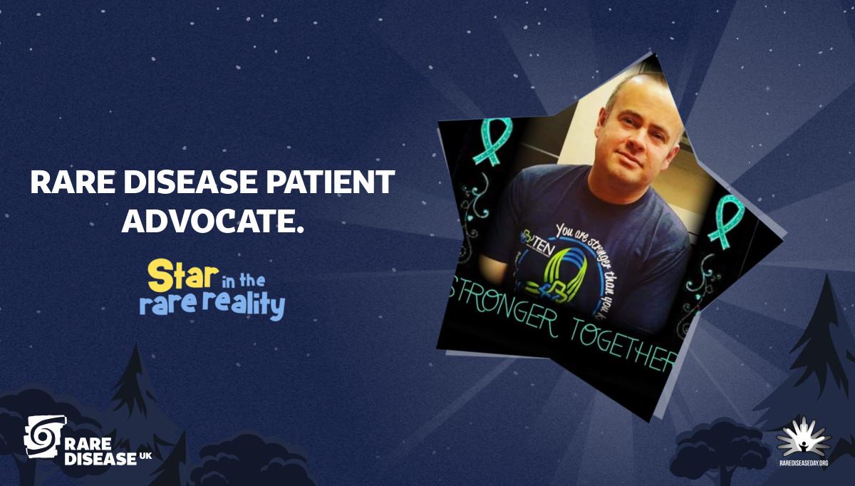 Rare disease patient advocate.