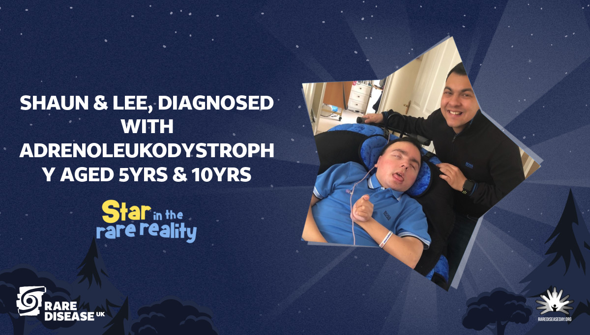 shaun & Lee, diagnosed with Adrenoleukodystrophy aged 5yrs & 10yrs