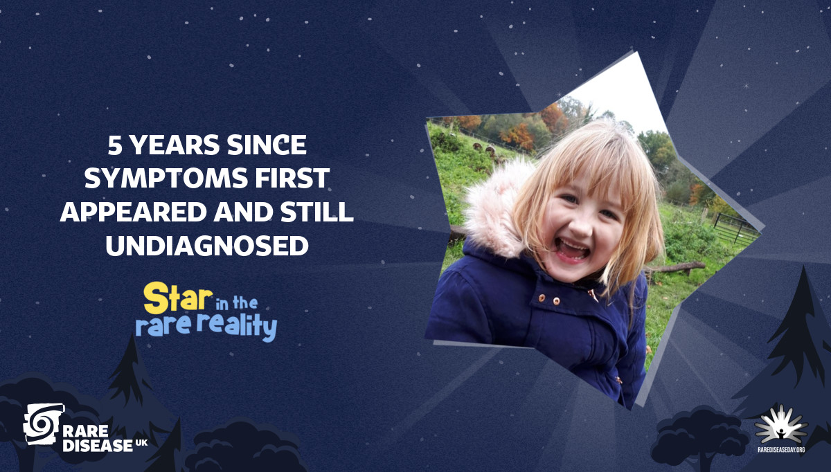 5 years since symptoms first appeared and still undiagnosed