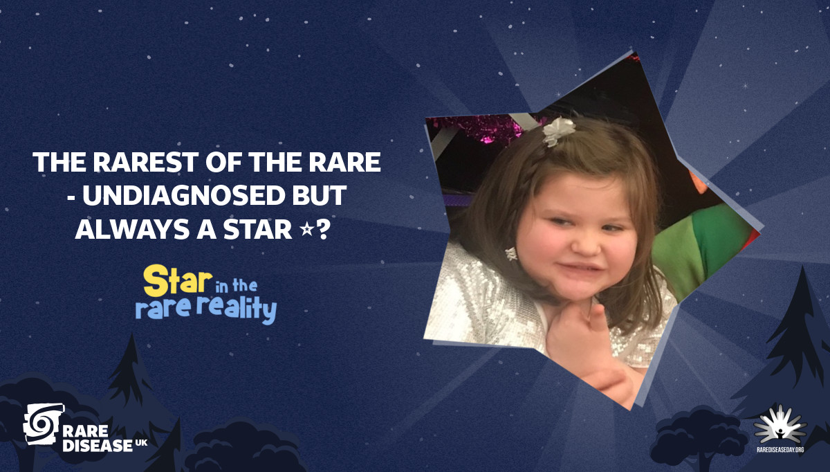 The rarest of the rare - Undiagnosed but always a star ⭐️