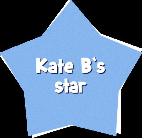 Kate B's star