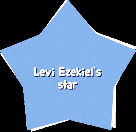 Levi Ezekiel's star